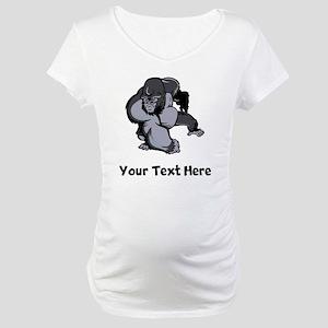 Big Gorilla (Custom) Maternity T-Shirt