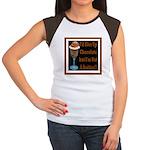 Chocolate Quitter 1 Women's Cap Sleeve T-Shirt