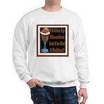 Chocolate Quitter 1 Sweatshirt