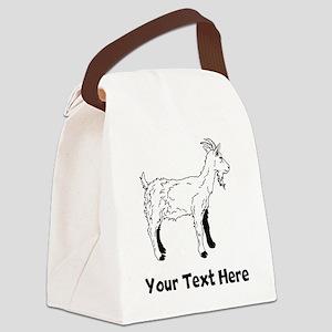 Billy Goat (Custom) Canvas Lunch Bag