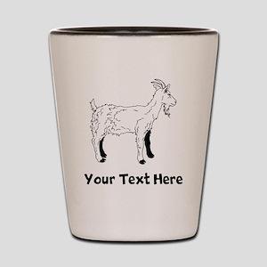 Billy Goat (Custom) Shot Glass