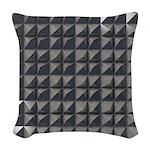 Aluminium Woven Throw Pillow