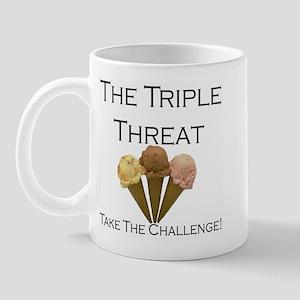 Triple Threat Take the Challe Mug