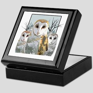 Barn Owl Pack Keepsake Box