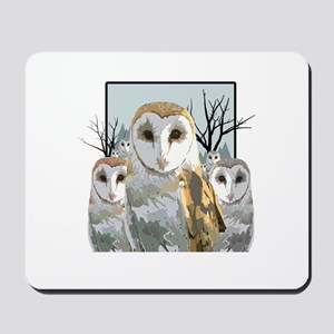 Barn Owl Pack Mousepad