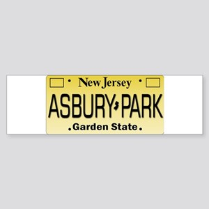 Asbury Park NJ Tag Giftware Bumper Sticker