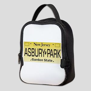 Asbury Park NJ Tag Giftware Neoprene Lunch Bag