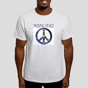PEACE PUZZLE Ash Grey T-Shirt