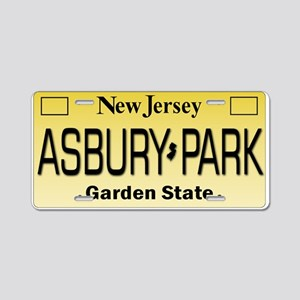 Asbury Park NJ Tag Giftware Aluminum License Plate