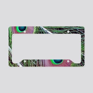 Green Eyed Majesty License Plate Holder