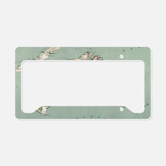 Cute Martha License Plate Holder
