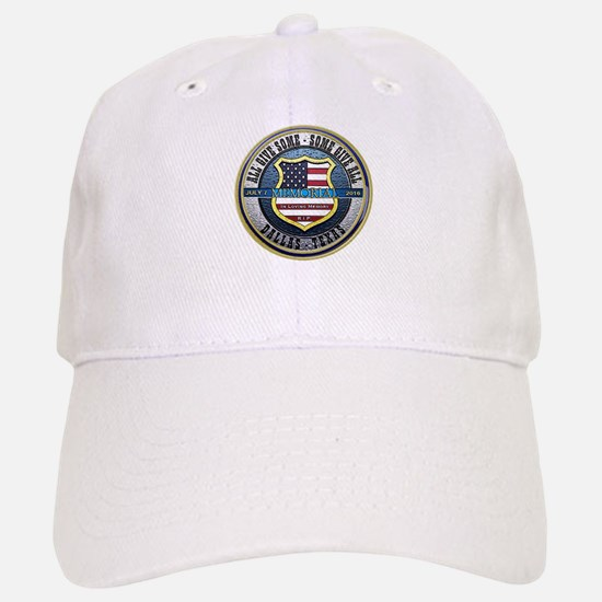 Memorial Dallas Police Thin Blue Line Baseball Baseball Cap