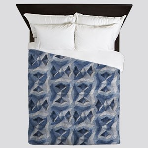 Concrete Queen Duvet