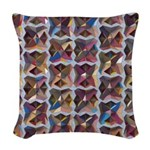 Mosaic Woven Throw Pillow