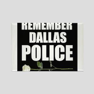 Remember Dallas Police Magnets