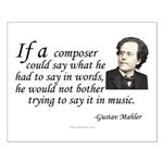 Mahler on Composing Small Poster