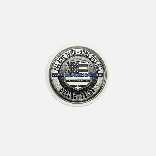 Cute Law enforcement memorial Mini Button