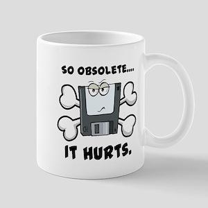 So Obsolete It Hurts (Floppy Disk) Mug