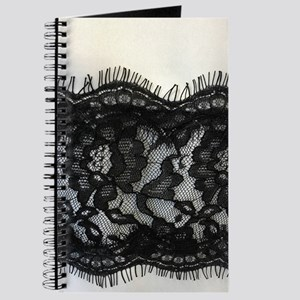 Girly Chic black lace Journal