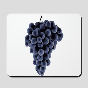 Black Grapes Mousepad