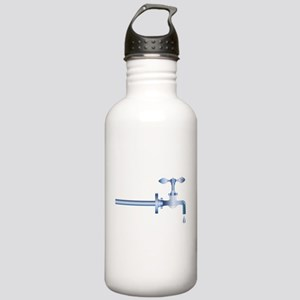 Dripping Faucet Stainless Water Bottle 1.0L