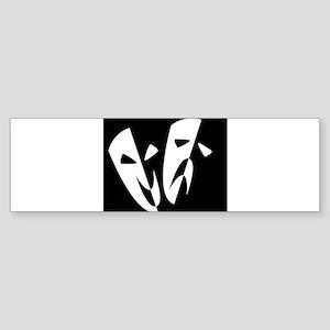 Stage Masks Bumper Sticker