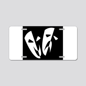 Stage Masks Aluminum License Plate