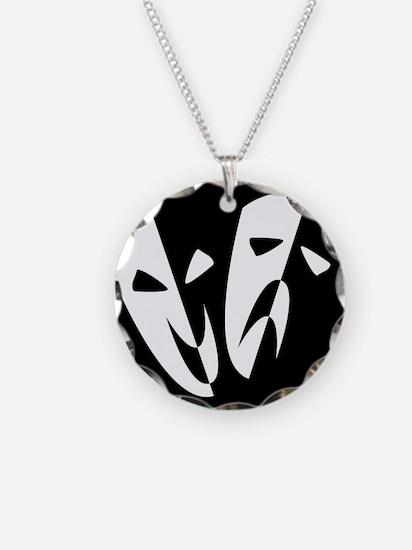 Stage Masks Necklace
