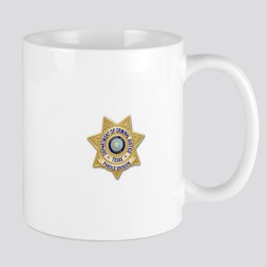 TDCJ Parole Badge Mugs