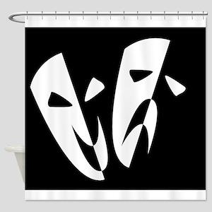Stage Masks Shower Curtain