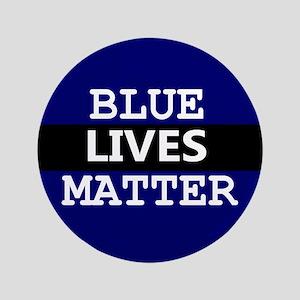 BLUE LIVES MATTER Button