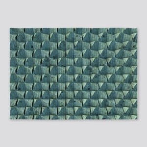 Patinated Copper 5'x7'Area Rug
