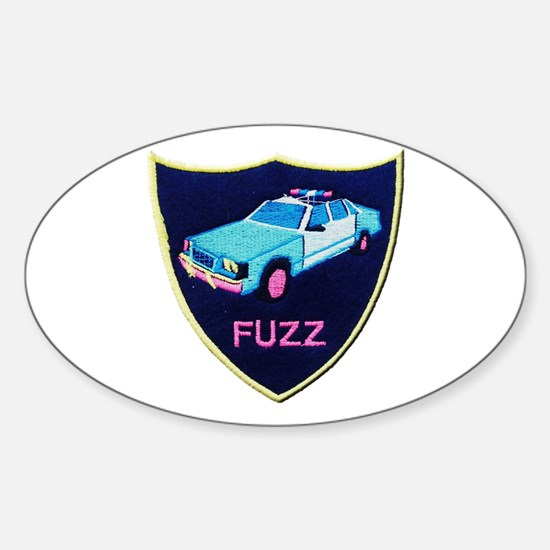 Fuzz The Police Decal