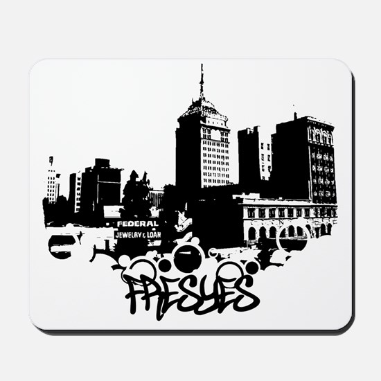 fresyes // mouse pad