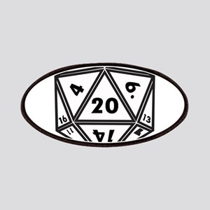 D20 White Patch