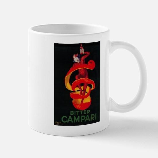 Bitter Campari - Vintage Promotional Poster Mugs