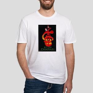 Bitter Campari - Vintage Promotional Poster T-Shir