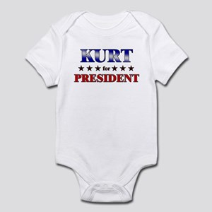 KURT for president Infant Bodysuit