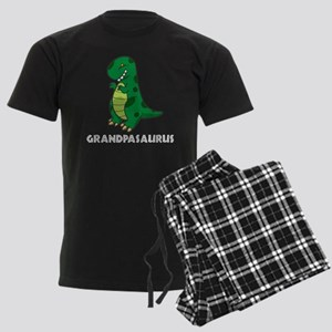 Grandpasaurus Men's Dark Pajamas
