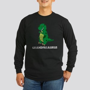 Grandpasaurus Long Sleeve Dark T-Shirt