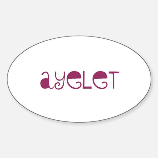 Ayelet Oval Decal