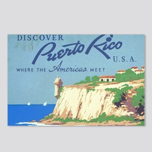Vintage Discover Puerto R Postcards (Package of 8)