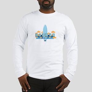 Del Mar California. Long Sleeve T-Shirt