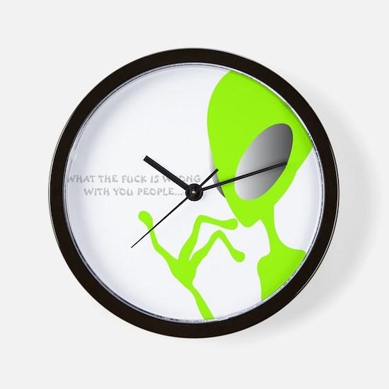 Unique Area 51 Wall Clock