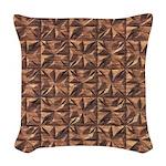 Brick Woven Throw Pillow
