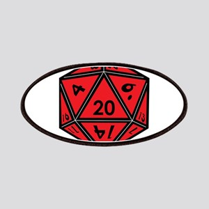 D20 Red Patch