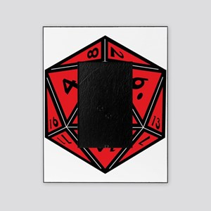 D20 Red Picture Frame