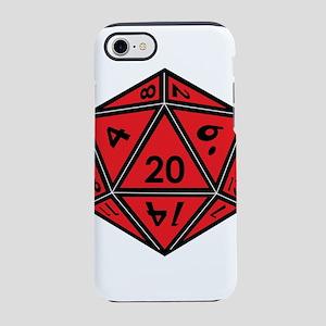D20 Red iPhone 8/7 Tough Case