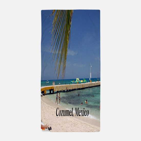 Cozumel Mexico Beach Towel
