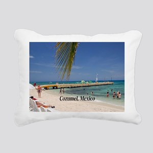 Cozumel Mexico Rectangular Canvas Pillow